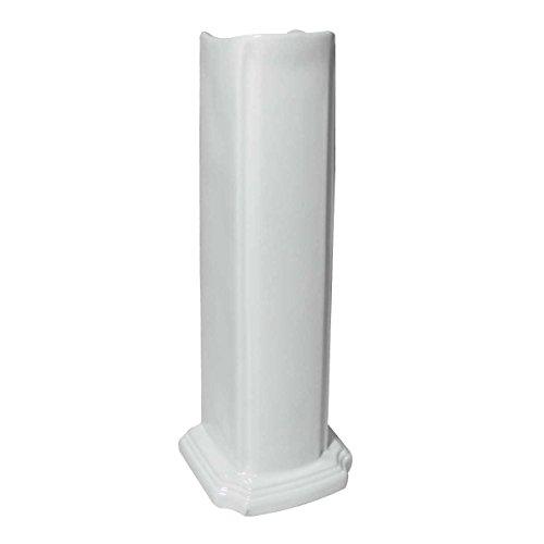 - Renovator's Supply Pedestal Sink Leg For Basin, White