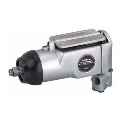 3/8-inch Drive Compact Air Impact Wrench with 75 Ft. Lbs. Torque and 8 Speed Regulator by Central Pneumatic Jardin
