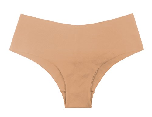 a0744dd720c5 SHEKINI Underwear Smooth Stretch Invisible Cheeky Hipster Panties for Women  6 Pack (Assorted, Small