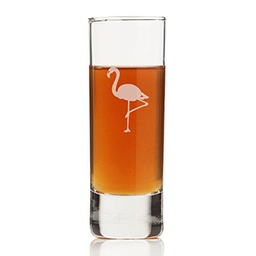 Flamingo Tall Shot Glass (Set of 4)