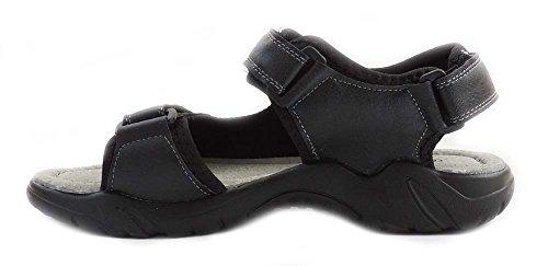 Ny Mote Eurbak Menns Sport Strand Sandal Komfort Sko Light Weight 1502 Svart