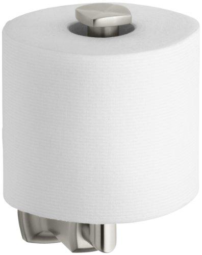 KOHLER K-16255-BN Margaux Toilet Tissue Holder, Vibrant Brushed Nickel