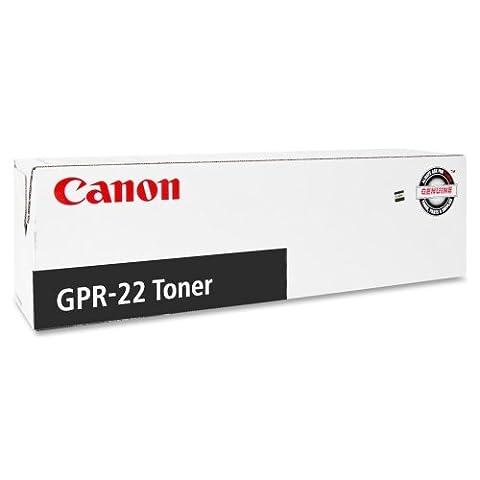 Canon GPR-22 Black Toner Cartridge - Black - Laser - 8400 Page - 1 Each - OEM