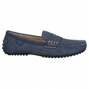 aeebced9007 POLO BY RALPH LAUREN Men s Wes Penny Moc (Newport Navy 8.0 ...