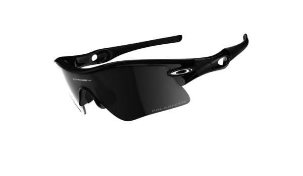bc5a052754 Amazon.com  Oakley Polarized Radar Range 09-668 Jet Black Frame with Black  Iridium Polarized Lenses  Health   Personal Care