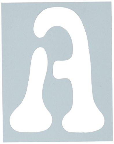 - Plaid Letter Stencil Value Pack (4-Inch), 28877 Disco
