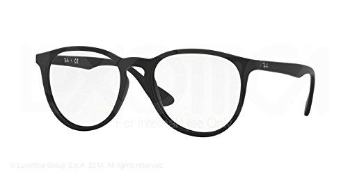 Ray-Ban Eyeglasses RX7046 5364 Rubber Black 53 18 145