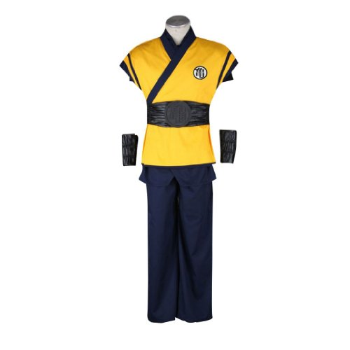 Dream2Reality japanische Anime Dragon Ball Cosplay Kostuem – Son Goku Outfit 3nd Ver Movie Large
