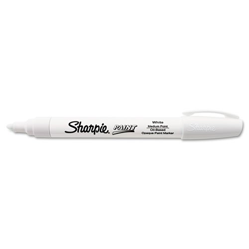 Sanford 35558 Sharpie Oil-Based Paint Marker, Medium Point, White, - Sanford Stores