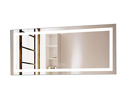 D-HYH Horizontal Dimmable LED Bathroom Mirror with Anti-Fog and Bluetooth Function 71 -