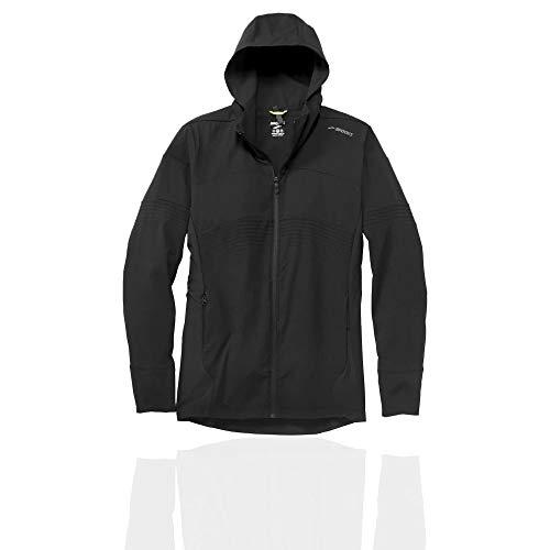 Brooks Canopy Jacket Black/Black Stripe XL