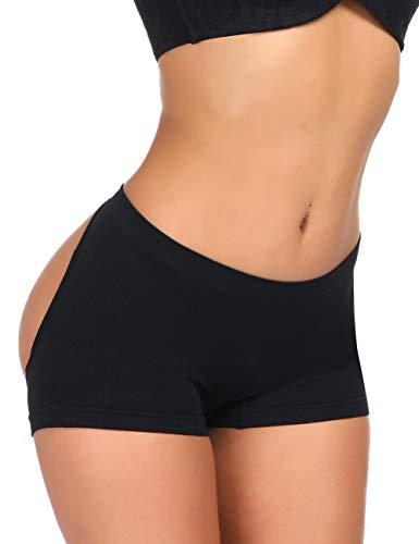 CINDYLOVER Body Shaper for Women Open Back Enhancer Panties Butt Lifting ()