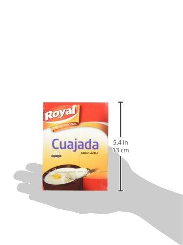 Royal - Cuajada, sabor lácteo, 36 x 24 g: Amazon.es: Alimentación y bebidas