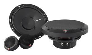 Rockford P165SI 6.5-Inch 2-Way Euro Fit Compatible System Internal Xover, Set of 4 by Rockford Fosgate