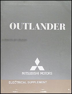 2008 mitsubishi outlander wiring diagram manual original amazon com rh amazon com