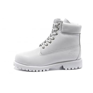 022cc60929 Timberland Mens 6-Inch Premium Waterproof Boots All White (Mens: 8 UK)