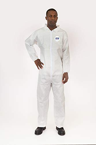 International Enviroguard Body Filter 95+, Coverall, Elastic Wrist & Ankle, 25 -