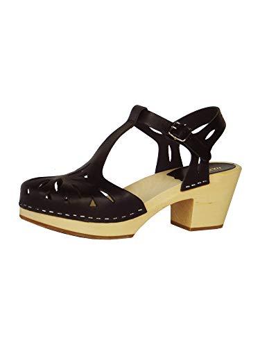 swedish hasbeens Women's Lacy Platform Sandal ()