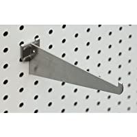 12-Inch Pegboard Bracket Zinc Pack of 12