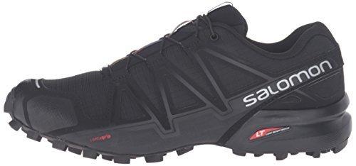 Salomon Trail Speedcross noir noir De Noir Running 4 Para Mujer Calzado qwrCqIRH