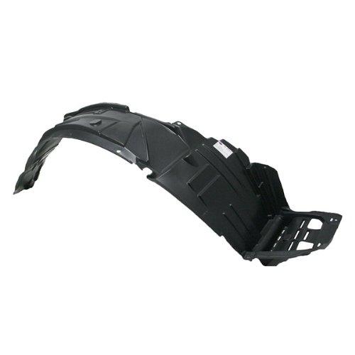 CarPartsDepot Passenger Side Front Fender Liner Splash Shield Plastic Replacement RH, 378-10225-12 AC1249105 74101S6M000 (Acura Rsx Fender)