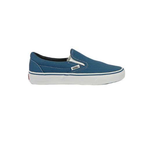 5668cf07e3e SV - Vans Plimsolls Slip On Mono Trainers Womens Trainers Size 3 - Navy   Amazon.co.uk  Shoes   Bags
