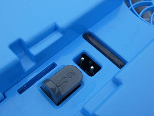 EDENEA Orca 300 CL - Robot Piscine Electrique sans Fil - sur Batterie - Nettoyage Fond + Paroi + Ligne d'eau - Autonome - Compatible Tout Revêtement - Double Panier De Filtration - Home Robots