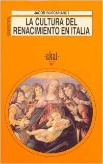 Descargar libros de internet gratis La cultura del Renacimiento en Italia. (Universitaria) en español PDF PDB