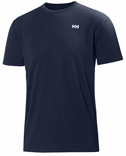 Helly Hansen HH Training T-Shirt - Camiseta para hombre Azul (Azul Oscuro)