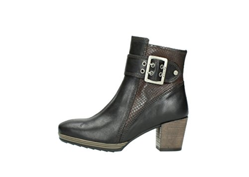 Brown Media Leather Botas 530 nbsp;Hopewell Oiled Wolky Alta 8026 aqdCTwY