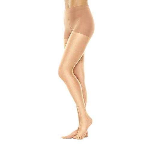 Hanes Womens Perfect Nudes Tummy Control Pantyhose, XL, Buff/Nude 2 ()