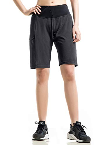 Cycorld MTB Hose Damen Radhose, Schnelltrocknend MTB Shorts Damen Mountainbike Shorts mit hochwertigem Sitzpolster, Atmungsaktiv Fahrradhose Damen Outdoor Bike Shorts