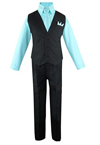 Luca Gabriel Toddler Boys' 4 Piece Vest Shirt