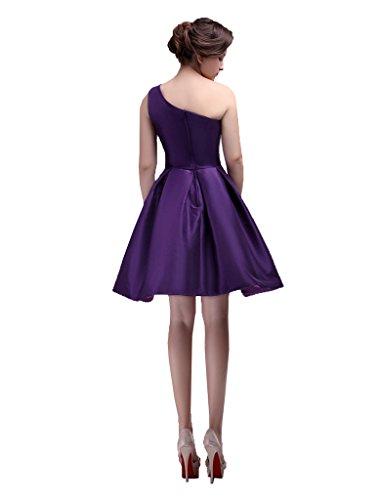 Dresses Party Prom Dormencir Shoulder Drop Short One Women's Waist FFpq08Hw