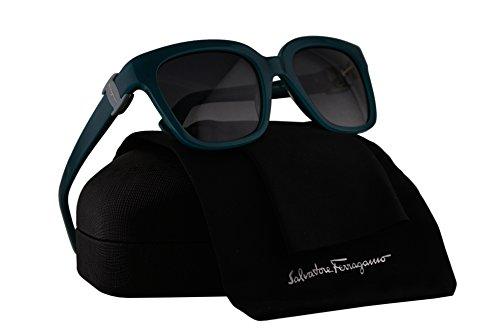 Salvatore Ferragamo SF782S Sunglasses Turquoise w/Gray Gradient Lens 441 SF 782S -