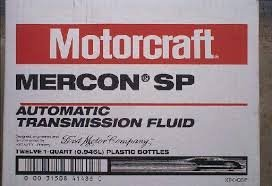 Motorcraft Mercon SP XT-6-QSP transmission fluid case 12 quarts