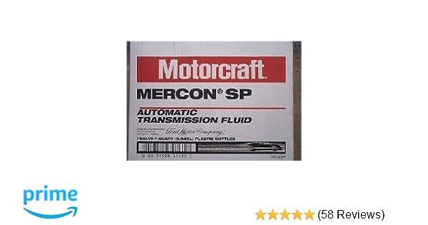 Motorcraft Mercon SP XT-6-QSP transmission fluid case 12 quarts