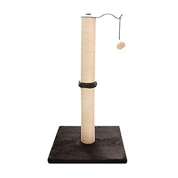 IRQ Baza - Mueble base para gatos con poste rascador de sisal para gatos y gatos: Amazon.es: Productos para mascotas