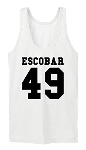 Escobar 49 Tanktop Girls Bianco