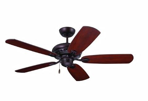 Emerson Ceiling Fans CF810VNB Avondale 52-Inch Indoor Ceiling Fan, Light Kit Adaptable, Venetian Bronze - Emerson Indoor Fans