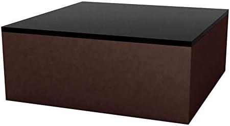 Vondom Quadrat mesa baja de exterior 80x80 h.32 cm bronce: Amazon ...