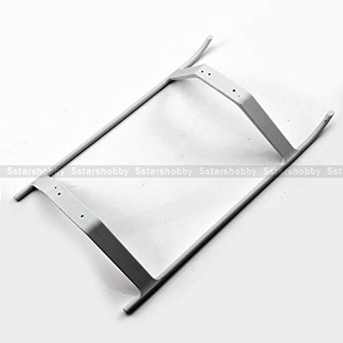 500 Class Helicopter - Part & Accessories White landing skid gear set for 500 helicopter