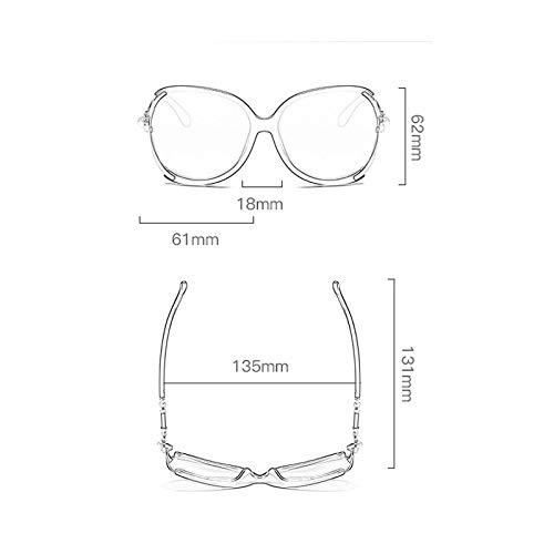 Cadre E Étoile Grand soleil Le Lunettes Sport lunettes de Nouvelles même à de Des Soleil polarisées Femme Paragraphe qSwPFOnvxT