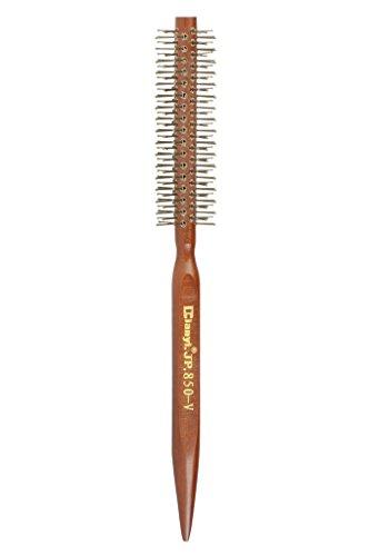 Mini Nylon Hair Bristle Round Brush 1.1-Inch Diameter