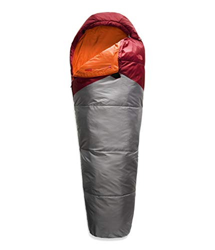The North Face Aleutian 55/13, Cardinal Red/Zinc Grey, REG-Left Hand (Sleeping Down Face Bag North)