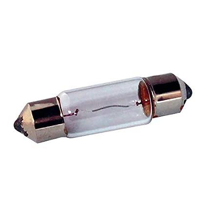 BOMBILLA 12V 8W SV8.5 11 x 30 PARPADEO COCHE LAMPARA FARO ...
