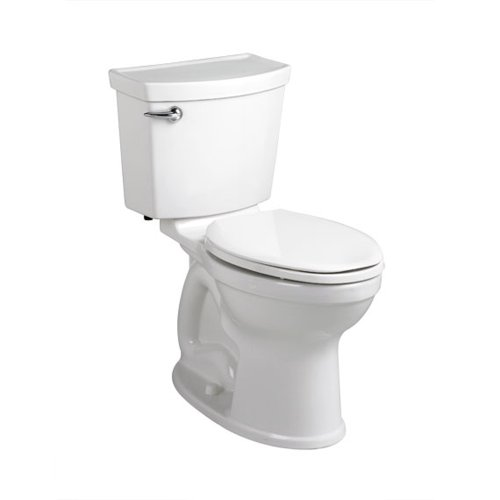 - American Standard 241AA104.020 Champion-4 HET Right Height Elongated Toilet (2 Piece), White