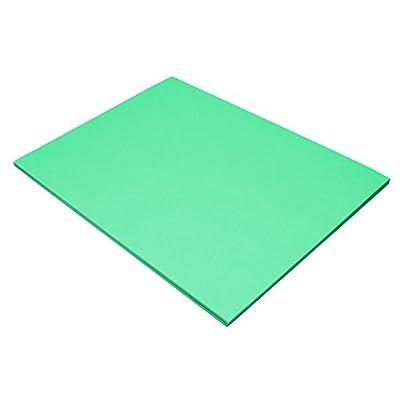 Riverside 3D Construction Paper, Blue-Green, 18