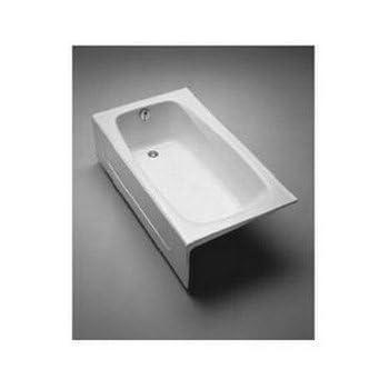 Toto Fby1525lpno 01 Enameled Cast Iron Bathtub 59 3 4 Inch
