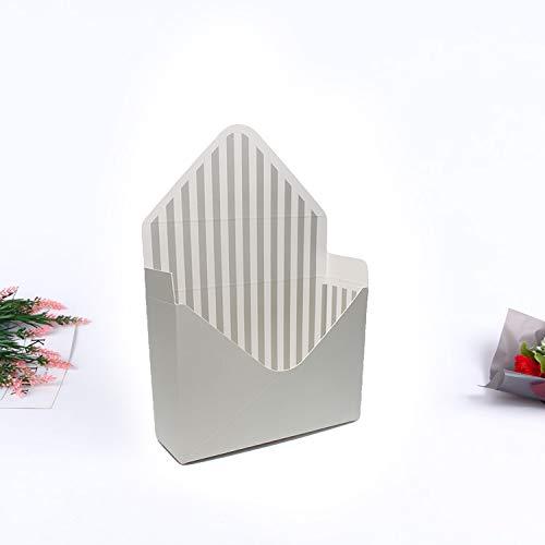 Pon el amor en el sobre flor de papel titular caja ramo ...
